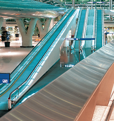Escalators-Conveyors
